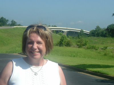 Deborah Kober at the Tuscaloosa Bypass